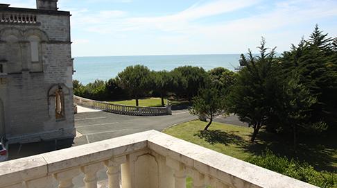 Le pavillon d'Auby vue mer